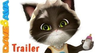 Download 😻 Ten in the Bed – Trailer | Nursery Rhymes and Kids Songs from Dave and Ava 😻 Video