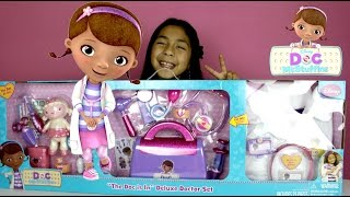 Download Doc McStuffins Doctor Kit Doc is In Delux Doctor Set with more than 20 Accessories Video