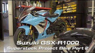 Download Suzuki GSX-R1000 Superstock Build Series Part 2 Video