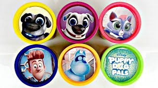 Download Disney Jr. PUPPY DOG PALS Learn Colors Play-doh Toy Surprise Eggs, Rolly Bingo Hissy NEW Plush/ TUYC Video