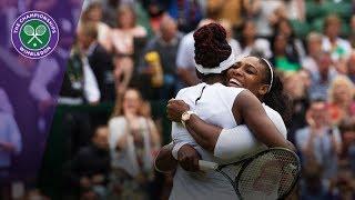 Download Serena and Venus Williams' best Wimbledon shots Video