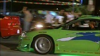 Download 【追悼】ワイルドスピード 三菱・エクリプス ドラッグレースシーン 【ゼロヨン】 Video
