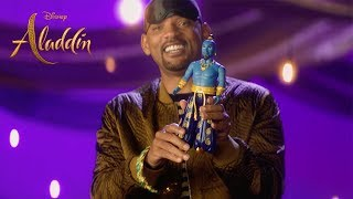 Download Disney's Aladdin - Will Smith Mystery Box Video