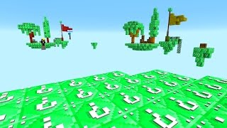 Download MINECRAFT EMERALD LUCKY BLOCK SKYBLOCK WARRIORS with The Pack Video