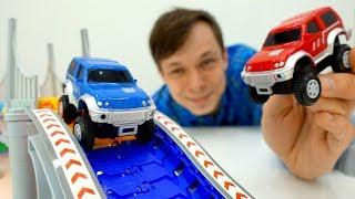Download Машинки и гонки - Распаковка - ГИБКИЙ ТРЕК Большое путешествие Video