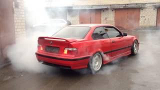 Download BMW E36 Twin Turbo Burnout Video
