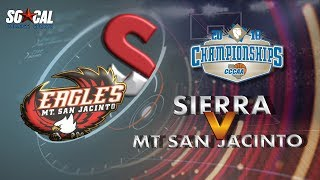 Download CCCAA Women's Basketball Semifinal: Sierra vs Mt San Jacinto - 3/10/18 - 3pm Video