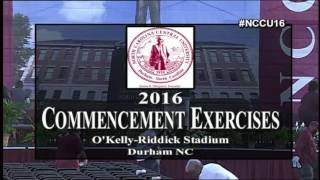 Download NCCU 127th Commencement Exercises Video