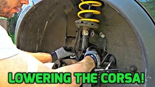 Download Corsa C - Installing Lowering Springs! (How To) Video
