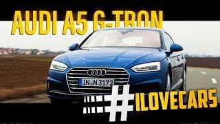 Download Audi A5 Sportback g-tron 2017 CNG 2.0TFSI Test Fahrbericht - #ilovecars Video
