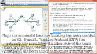 Download 3.2.2.4 Packet Tracer - Configuring Trunks Video