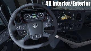 Download ✅ [ETS2 1.31] 4K Reworked Interior/Exterior Next Gen Scania Video
