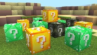Download MINECRAFT MILITARY LUCKY BLOCK HUNGER GAMES Video