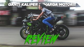 Download REVIEW KAWASAKI H2 GANTI KALIPER BREMBO SEHARGA MOTOR Video