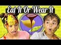 Download Kids Vs. Food | EAT IT OR WEAR IT CHALLENGE Video