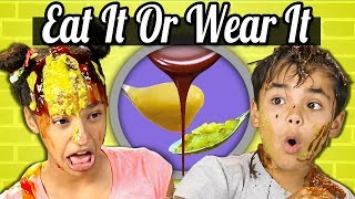 Download Kids Vs. Food | EAT IT OR WEAR IT CHALLENGE Video