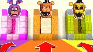 Download Minecraft PE : DO NOT CHOOSE THE WRONG SECRET BASE! (Five Nights at Freddy's) Video