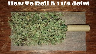 Download How To Roll A 1 1/4 Joint [Step By Step & Easy] Video