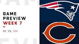 Download New England Patriots vs. Chicago Bears | Week 7 Game Preview | Move the Sticks Video