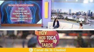 Download La inflamación pleural y sus síntomas: Cecilia Pirolo en Hoy nos toca a la Tarde Video