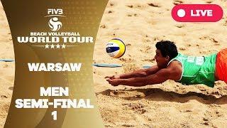 Download Warsaw 4-Star - 2018 FIVB Beach Volleyball World Tour - Men Semi Final 1 Video