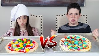 Download GUMMY FOOD vs REAL FOOD! - Pizza Edition Video