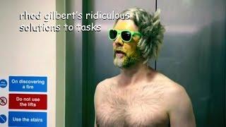 Download rhod gilbert having the weirdest solutions to tasks in taskmaster Video