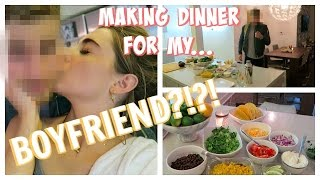 Download COOKING MY BOYFRIEND DINNER FOR THE FIRST TIME! Video