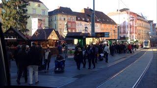 Download HGL Graz Tram | Linie 4: Liebenau/Murpark - Andritz Video