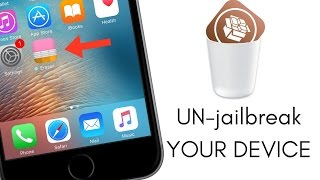 Download How to UN-Jailbreak your iOS Device & Restore it on iOS 9.3.3, No computer needed Video