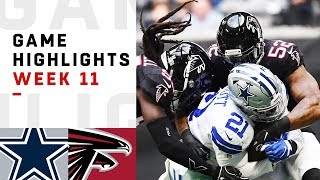 Download Cowboys vs. Falcons Week 11 Highlights | NFL 2018 Video