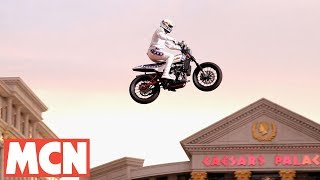 Download Travis Pastrana Las Vegas stunt   In numbers   Motorcyclenews Video