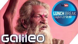Download Inder hält 38 Jahre lang den Arm in die Luft | Galileo Lunch Break Video
