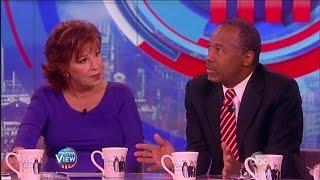 Download Ben Carson Defends His Endorsement of Donald Trump - The View Video