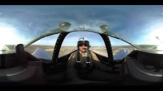 Download 360 video: Ride in a WWII P51 Fighter Plane Video