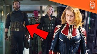 Download Captain Marvel in Avengers Infinity War Insane Theory Video