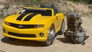 Download Transforming 500cc Camaro Build! Video