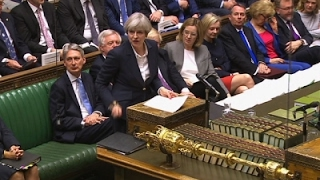 Download UK's May Signs Letter Triggering Leave from EU Video