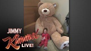 Download Jimmy Kimmel's Giant Stuffed Bear Revenge Video