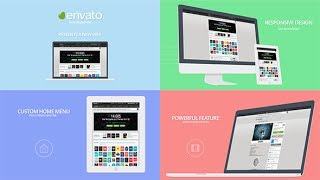 Download Website Presentation Template After Effects Template Video