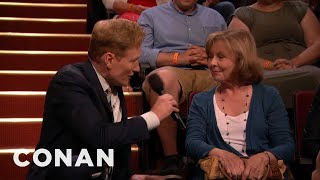 Download Conan Sings Happy Birthday To A Lucky Audience Member - CONAN on TBS Video