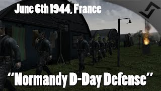 Download Men of War: Assault Squad 2 - Normandy Defense on D-Day 6th of June 1944 Video