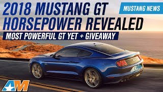 Download 2018 Ford Mustang GT & EcoBoost Horsepower, Torque, and Specs Revealed - Mustang News Video