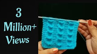 Download Easy Knitting Design/Pattern in hindi Video