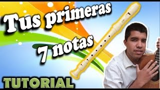 Download Como tocar NOTAS EN FLAUTA dulce (Primeras 7 notas) Video