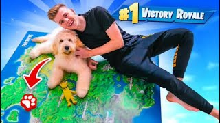 Download Using A PUPPY To WIN Fortnite Chapter 2! Video