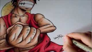 Download Drawing - Luffy from One Piece Video