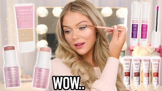 Download EASY EVERYDAY MAKEUP LOOK   NEW DRUGSTORE MAKEUP TESTED Video