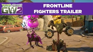Download Frontline Fighters Gameplay Trailer | Plants vs. Zombies Garden Warfare 2 | Free Update Video