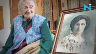 Download World's oldest personEmma Moranodies at 117 in Italy Video